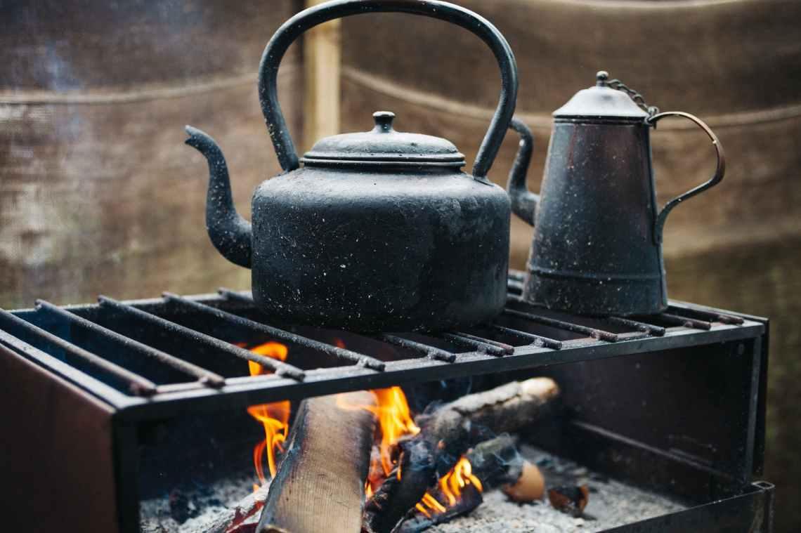 coal coffee cooking daylight