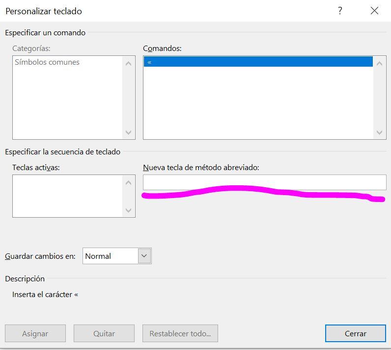 Personalizar teclado 2